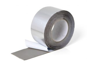 Bande adhésive butyle recouvrement aluminium