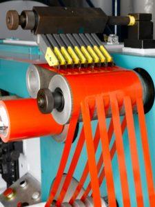 Bobine adhésive fabrication rouleau