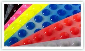 Butoirs adhésifs protecteurs Bumpers silicone