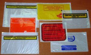 Enveloppes adhésives porte document personnalisées