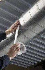 Ruban adhésif aluminium renforce avec fibre de verre