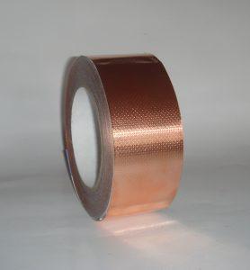 Ruban adhésif cuivre gaufré adhésif conducteur