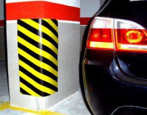 Protecteur adhésif mousse parking