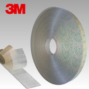 3M™ Dual Lock Système d'Union Amovible SJ4570 Transparent, Faible épaisseur (1,7mm)