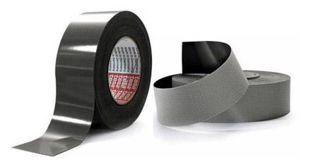 Ruban 4563 en finition lisse: Epaisseur totale de 340 microns Ruban 4583 en finition rugueux ou « chair de poule ». Epaisseur totale de 620 microns.
