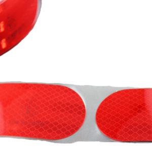 3M™ Diamond Grade™ 983-72S Ruban Adhésif Réfléchissant Micro prismatique Segmenté Classe C Marqué ECE104 DG3 Rouge pour Citerne