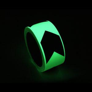 Ruban Adhésif Photoluminicent, Dessin Fleche