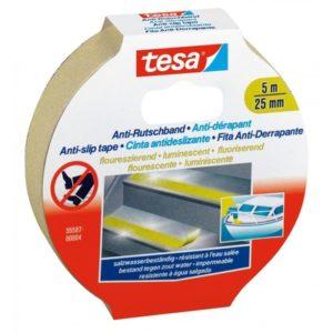 TESA® Ruban Adhésif Anti-Dérapant 55580 Photoliminescent