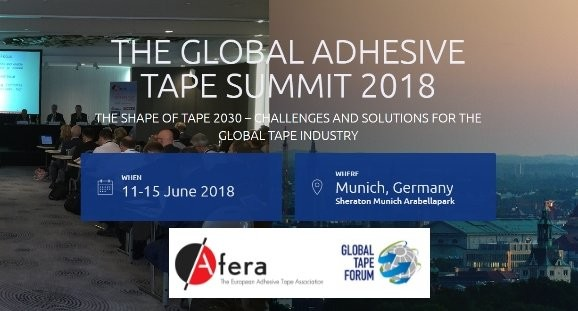 AFERA. GLOBAL ADHESIF TAPE SUMMIT DES FABRICANTS DE BANDE ADHÉSIVE