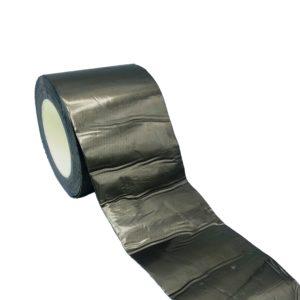 Ruban Adhésif de Butyle avec Aluminium, Noir / Gris Plomb