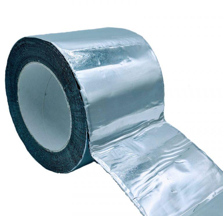 Ruban Adhésif de Butyle avec Aluminium, Argent
