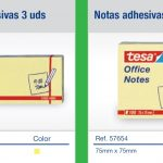 tesa block notes adhesives post it jaune 57653 57654