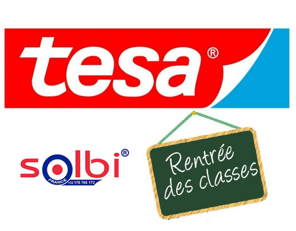 tesa rentree des classes ruban adhesif colle solbi