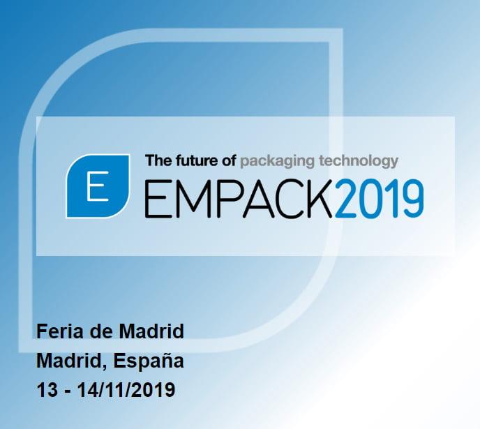 Salon EMPACK de Madrid, les 13 et 14 novembre 2019.