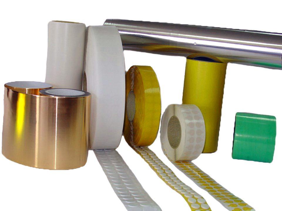 Produits et rubans adhésifs pour les arts graphiques.