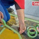 Ruban tissu TESA® 4621 à usages multiples pour extérieur